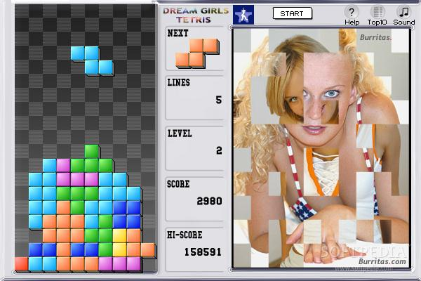 Dream Girls Tetris screenshot 1