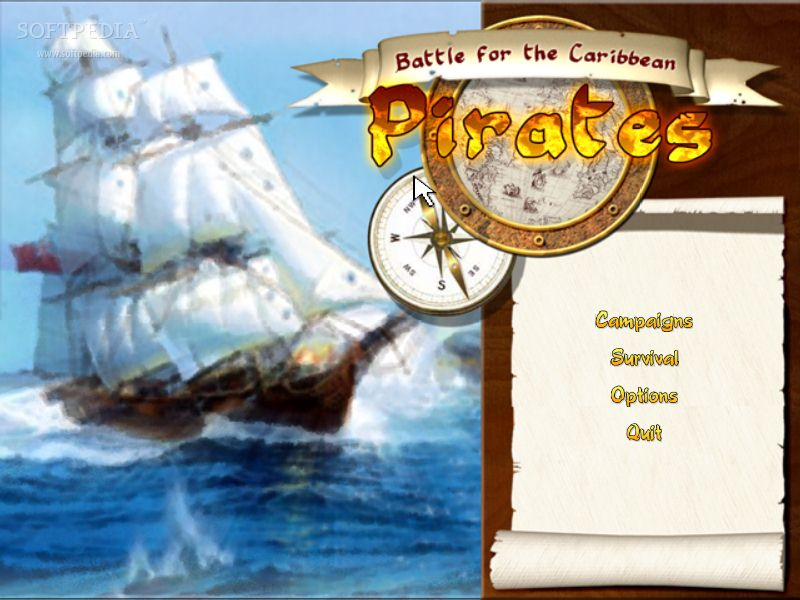 Pirates Battle For The Caribbean | Full Version | 8.58MB