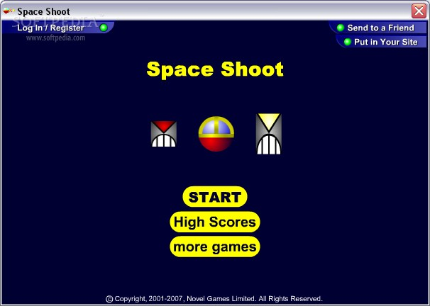 Space Shoot screenshot 1