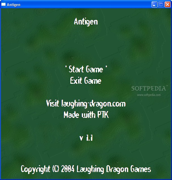 Antigen screenshot 1