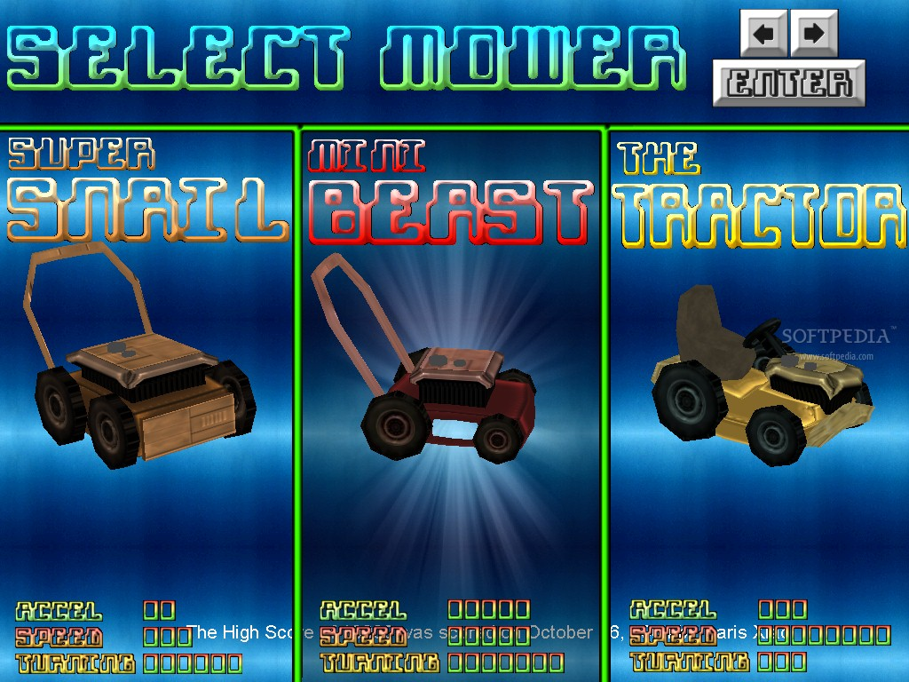 Virtual Lawn Mower screenshot 2