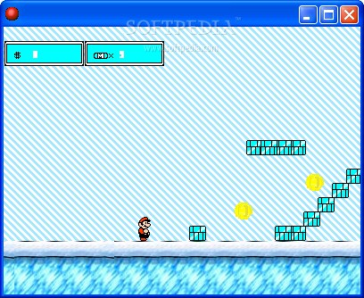 Super Mario Ice Fortress screenshot 2