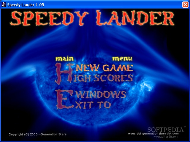 SpeedyLander screenshot 1