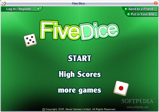 Five Dice screenshot 1