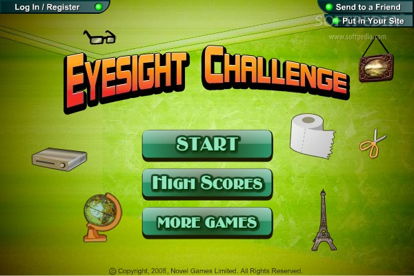 Eyesight Challenge screenshot 1