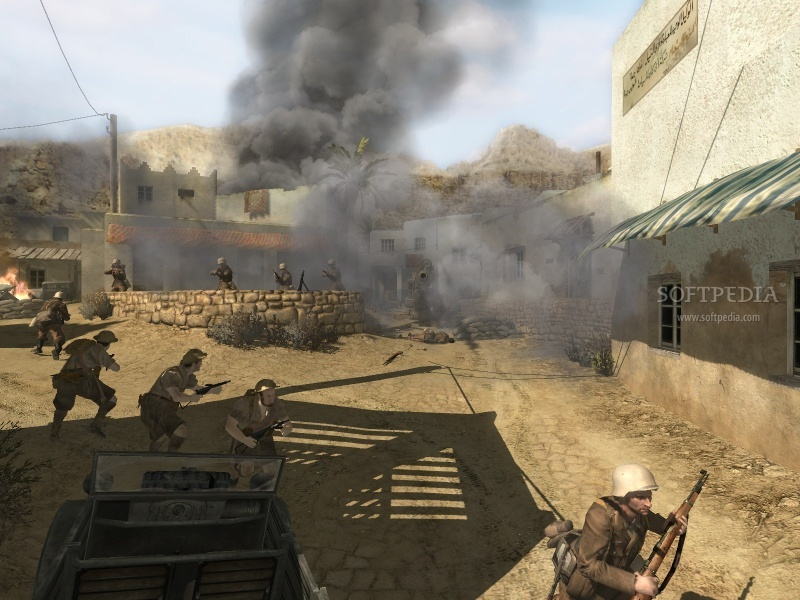 Call of Duty 2 Map - Wawa 3D Aim screenshot 1