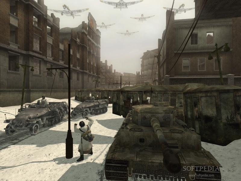 Call of Duty 2 Map - Wawa 3D Aim screenshot 2