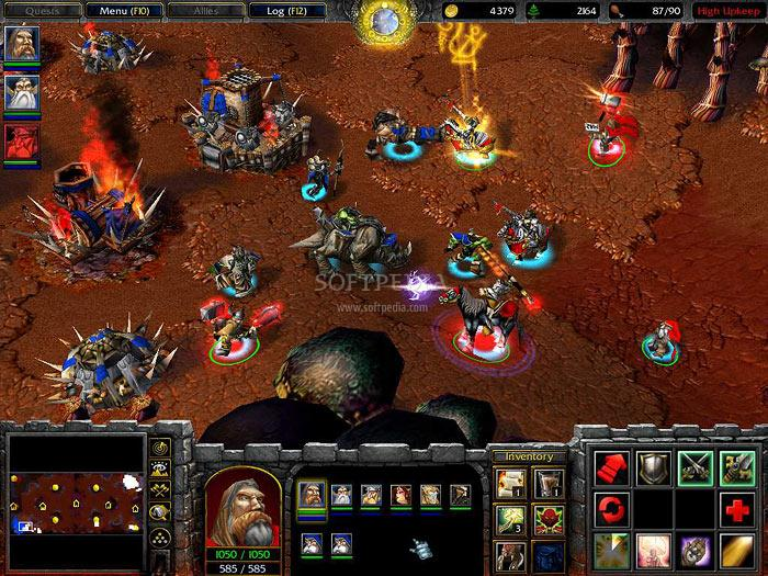 Warcraft 3 Map - Lord of The Rings: Third Age screenshot 1