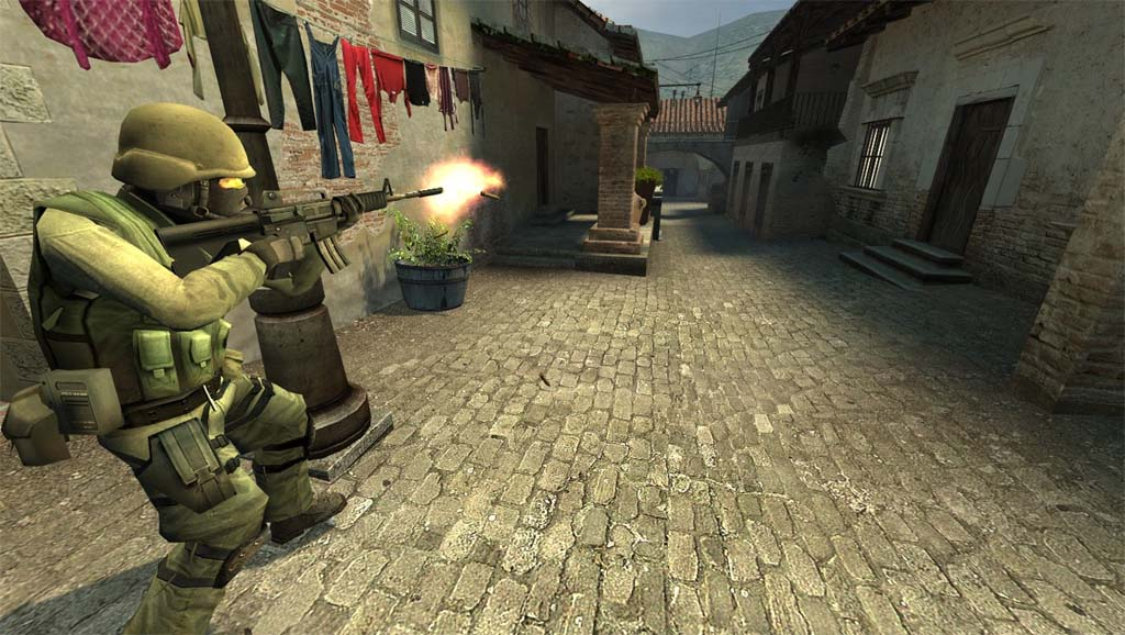 Counter-Strike: Source Map - CS_Occupation screenshot 1