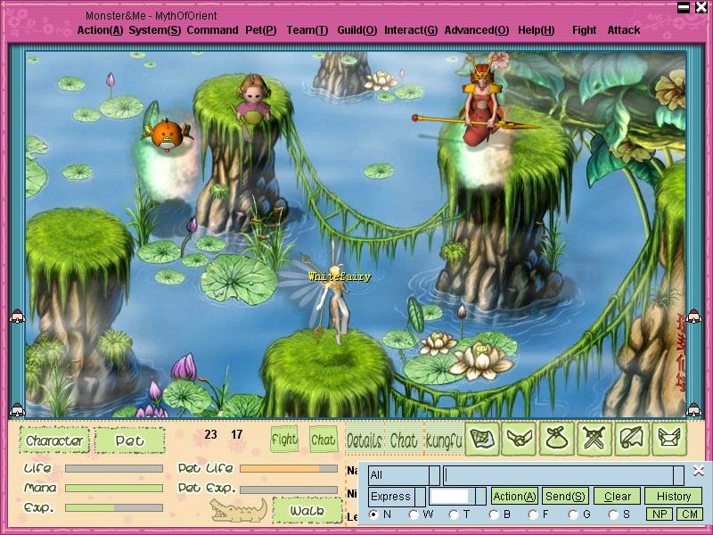 Monster and Me Online Client Screenshots, screen capture - Softpedia