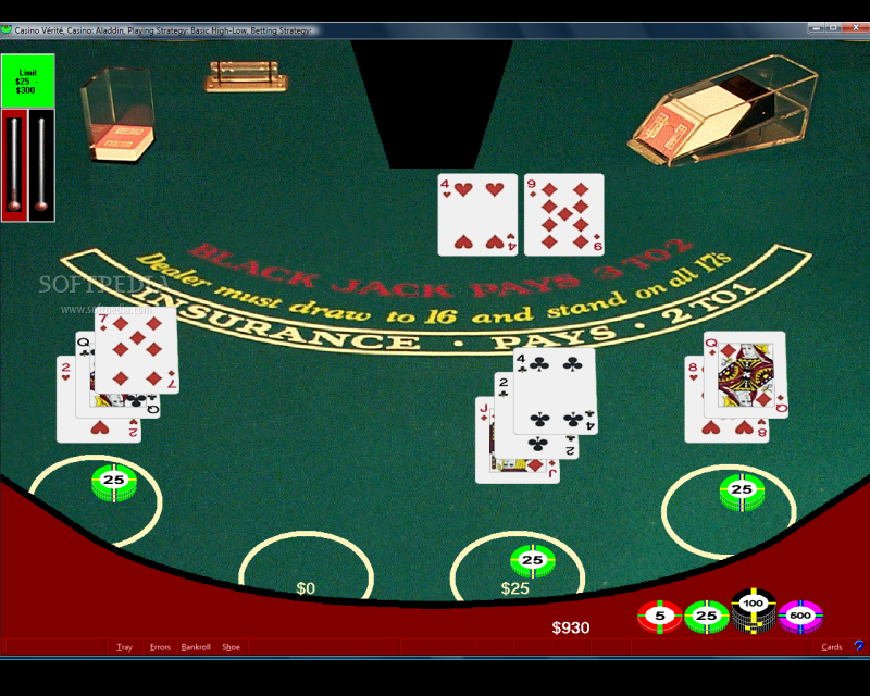 Casino Verite Blackjack screenshot 1