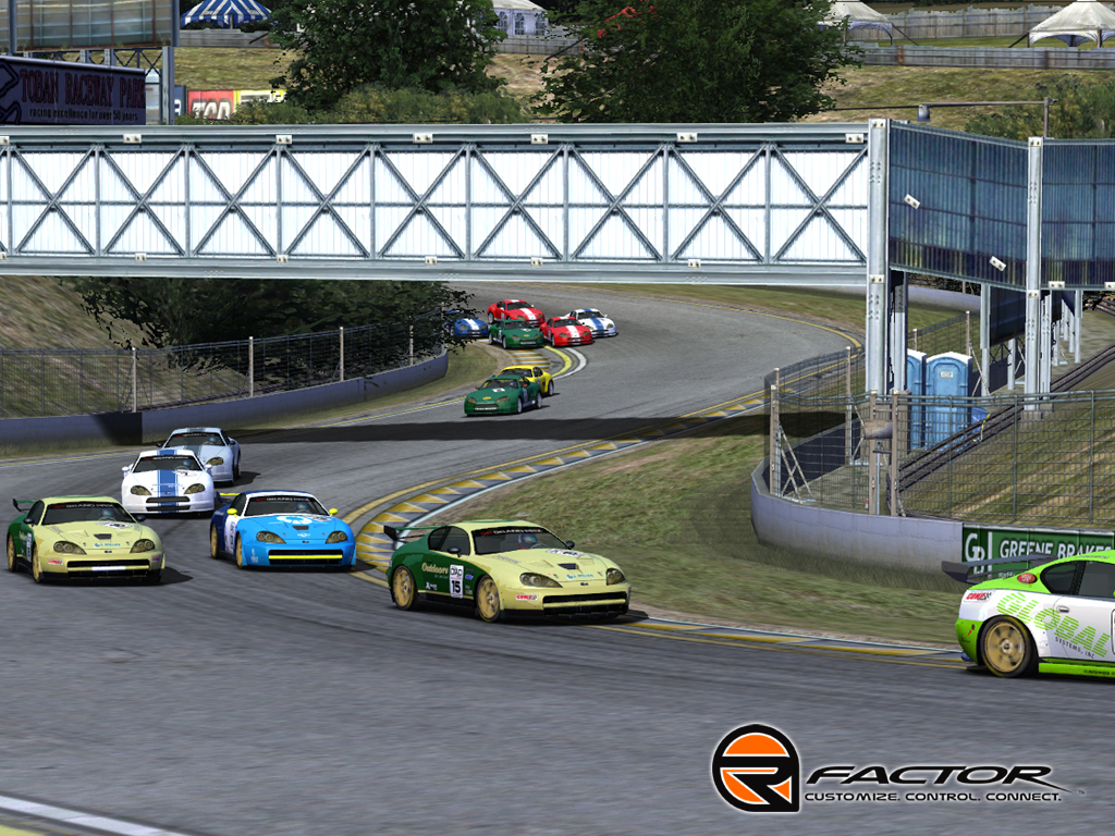 rFactor - NROS Nextel Chevy Template screenshot 1