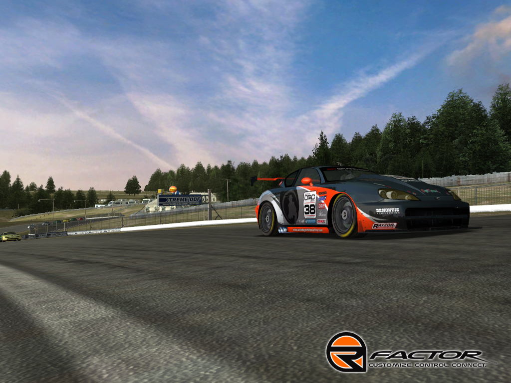 rFactor - NROS Nextel Chevy Template screenshot 2