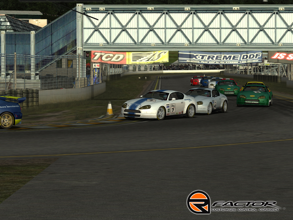 rFactor - NROS Nextel Chevy Template screenshot 3
