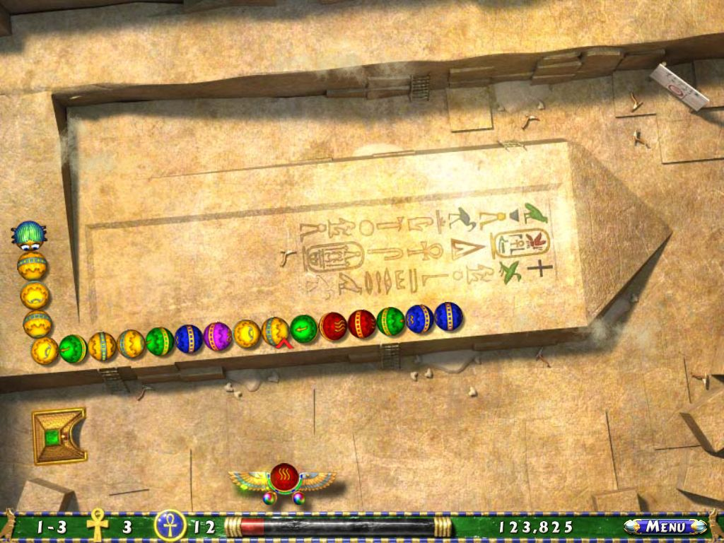 Luxor 2 screenshot 3