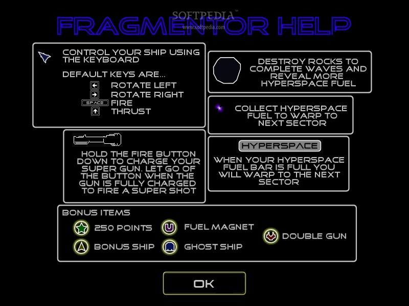Fragmentor screenshot 2