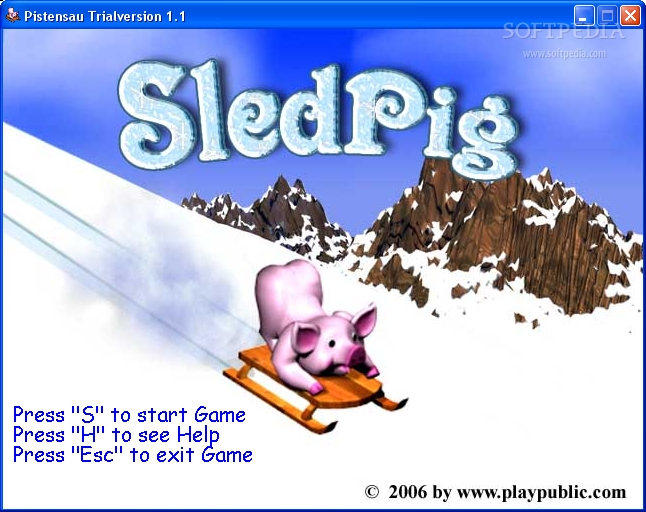 SledPig screenshot 1