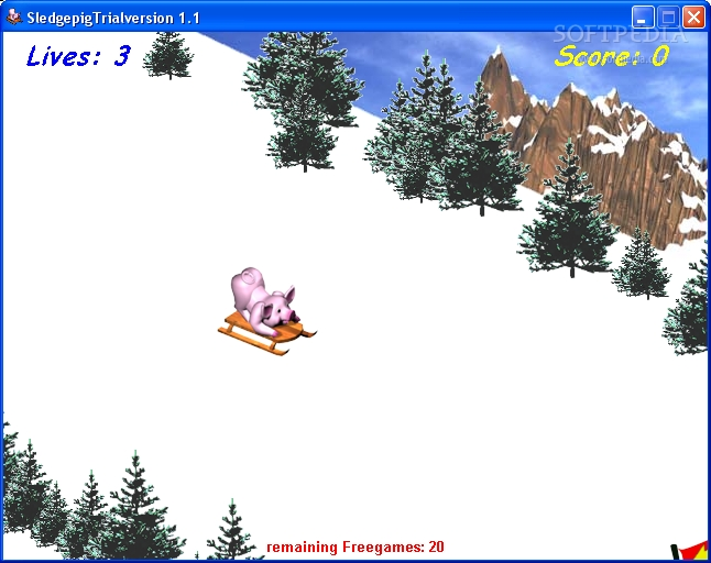 SledPig screenshot 2