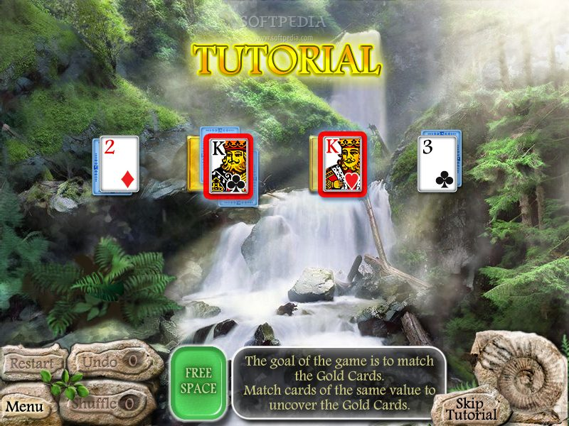 Waterscape Solitaire: American Falls screenshot 2