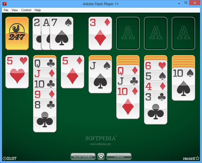 3 card turn solitaire