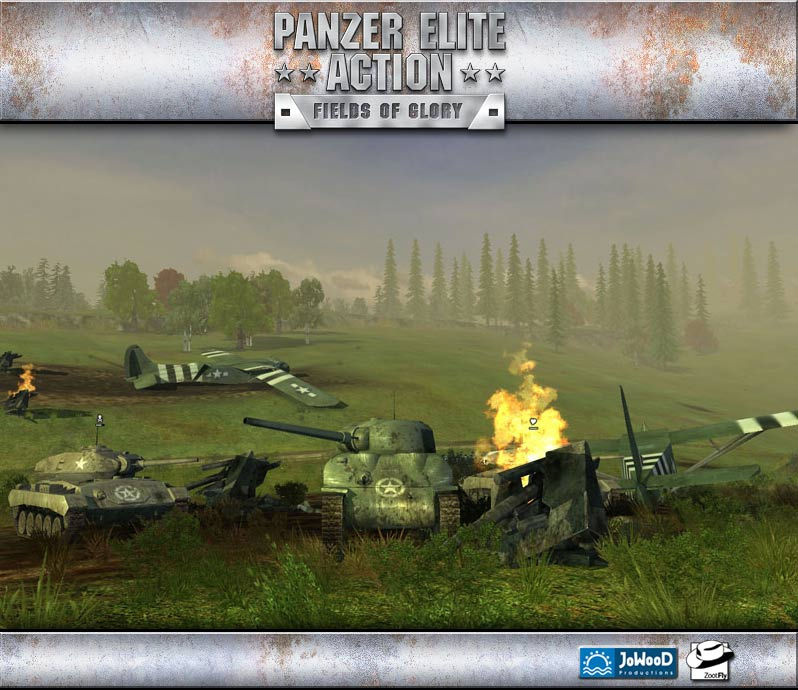 Panzer Elite Action: Dunes of War Multiplayer Demo screenshot 1