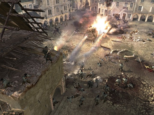 Company of Heroes Russian Patch screenshot 2