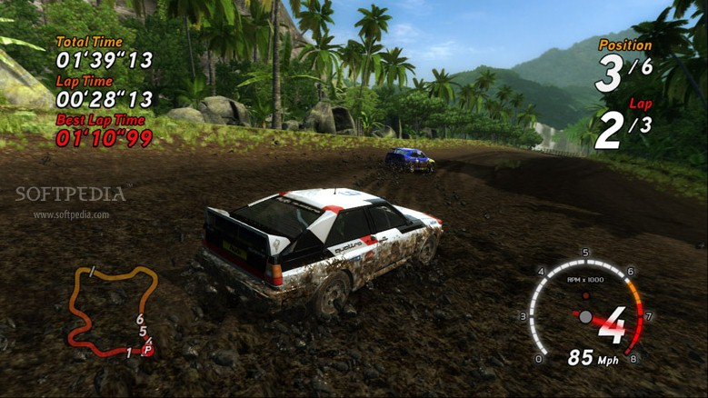 SEGA Rally Tonya & Donya Intro screenshot 3