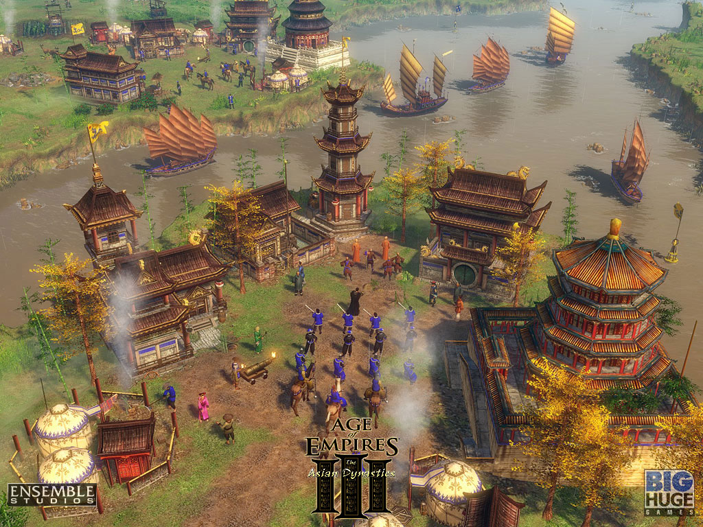 Age of Empires III: The Asian Dynasties +6 Trainer for 1 0