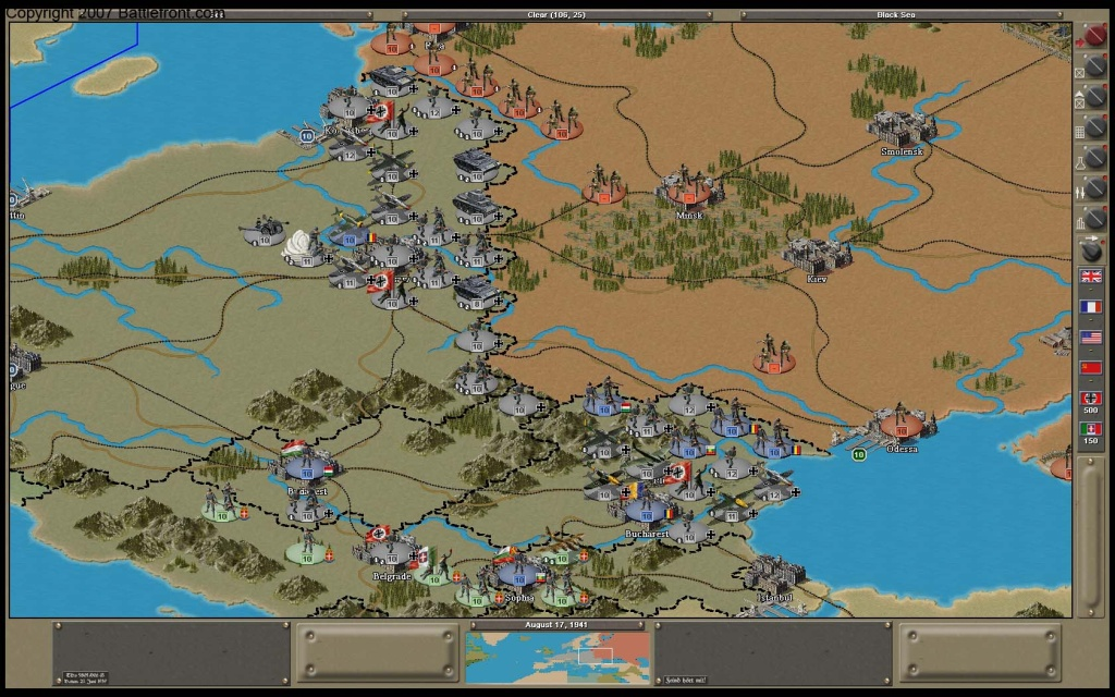 Strategic Command 2: Weapons and Warfare Patch screenshot 1