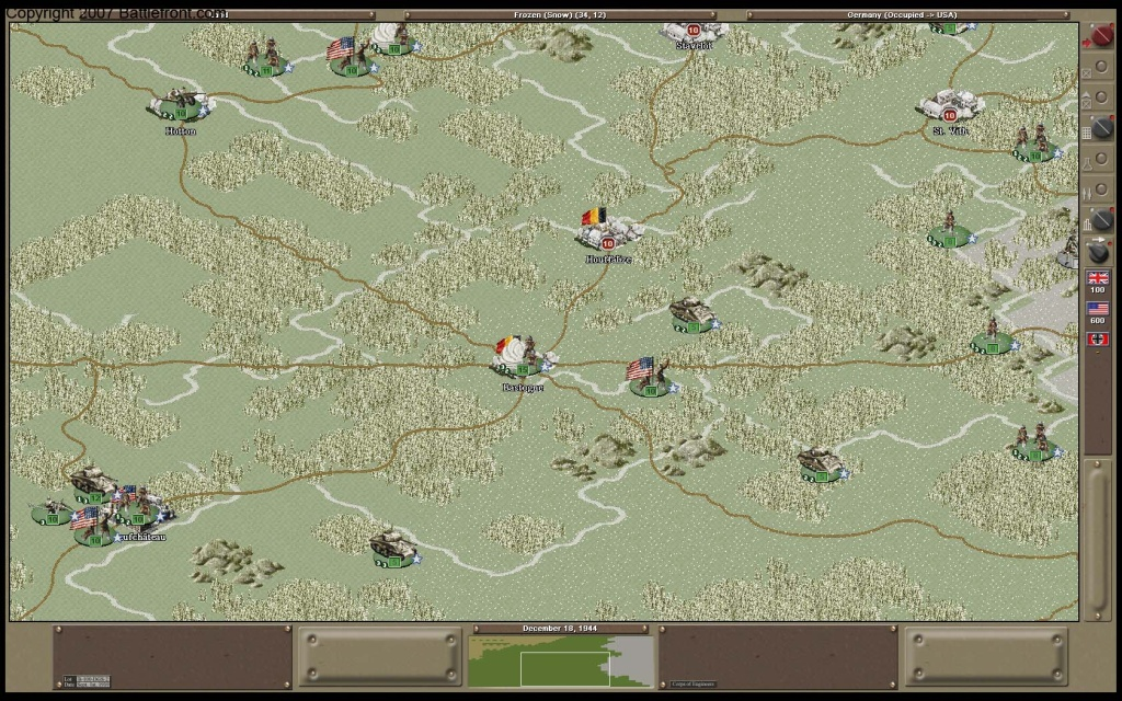 Strategic Command 2: Weapons and Warfare Patch screenshot 2