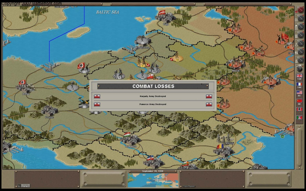 Strategic Command 2: Weapons and Warfare Patch screenshot 3