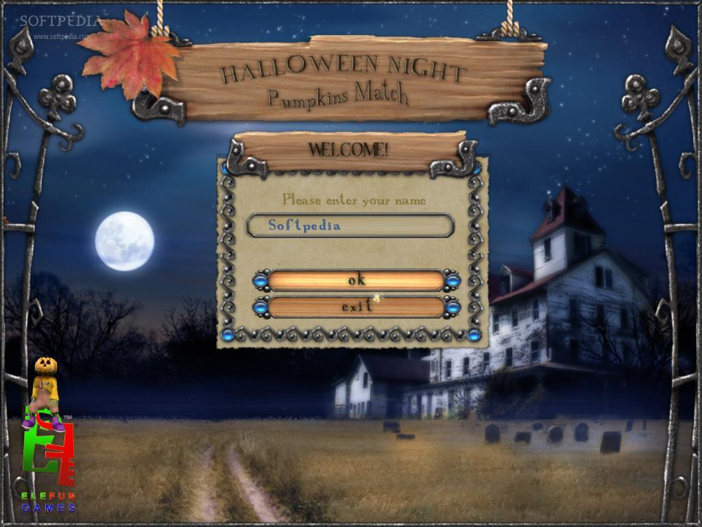 Halloween Night: Pumpkin Match screenshot 1
