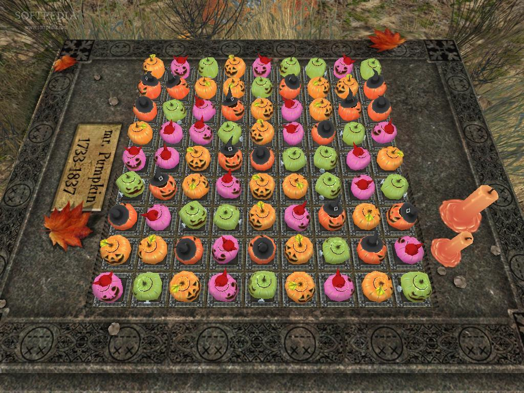 Halloween Night: Pumpkin Match screenshot 2