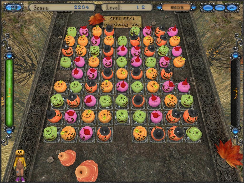 Halloween Night: Pumpkin Match screenshot 3