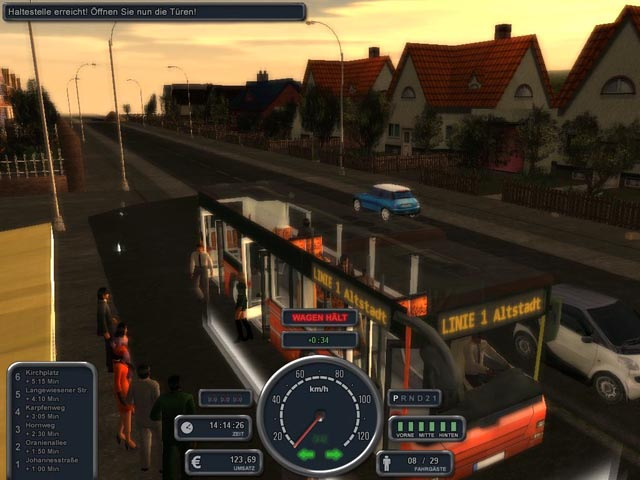 Bus Simulator 2008 Demo screenshot 1