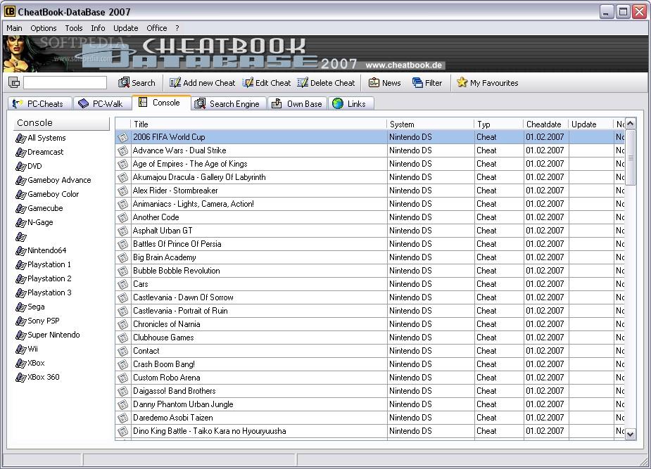 CheatBook DataBase 2007 Download