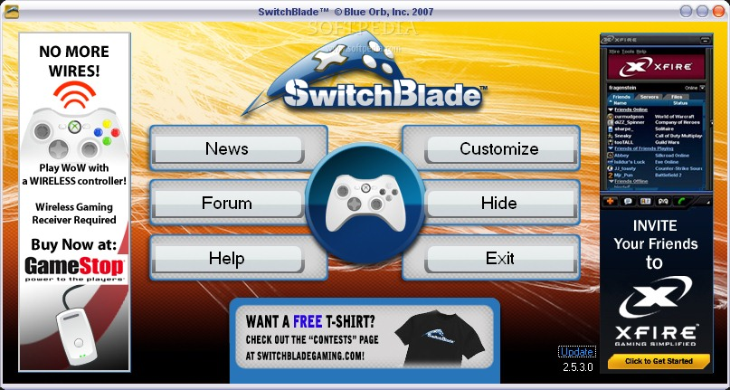 Switchblade screenshot 1