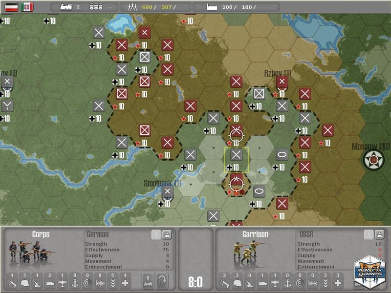 Commander: Europe at War Map Editor screenshot 1