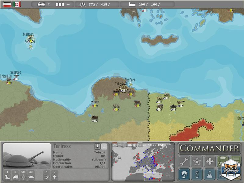 Commander Europe at War Patch Slitherine Version screenshot 2
