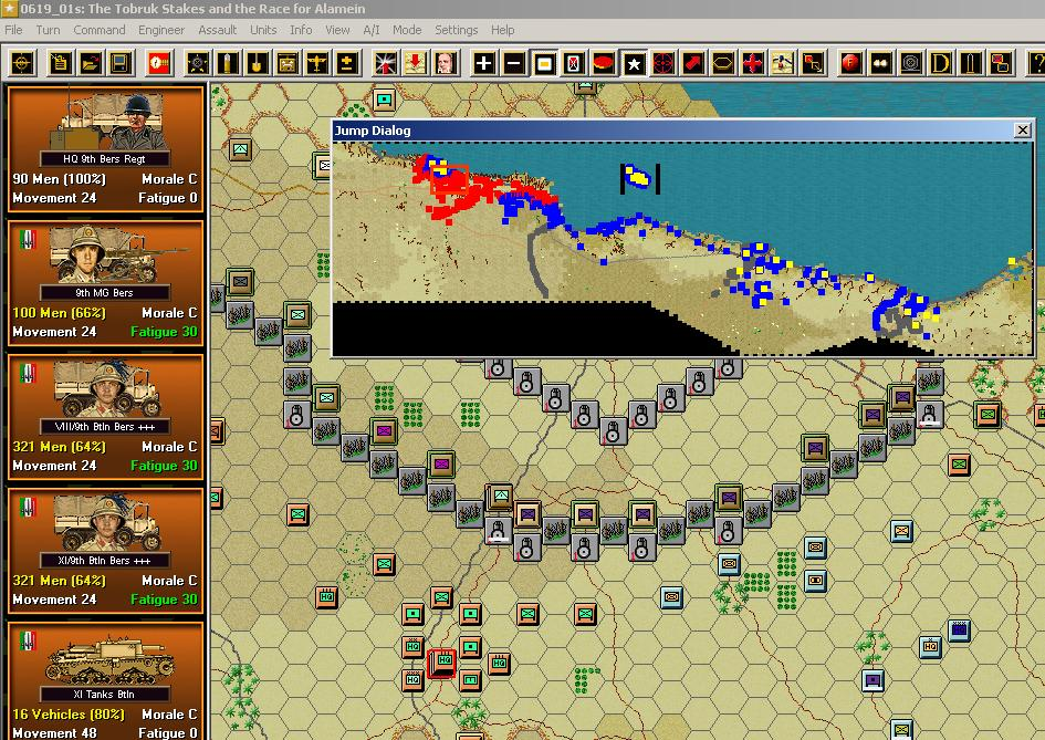 Panzer Campaigns El Alamein '42 Patch screenshot 1