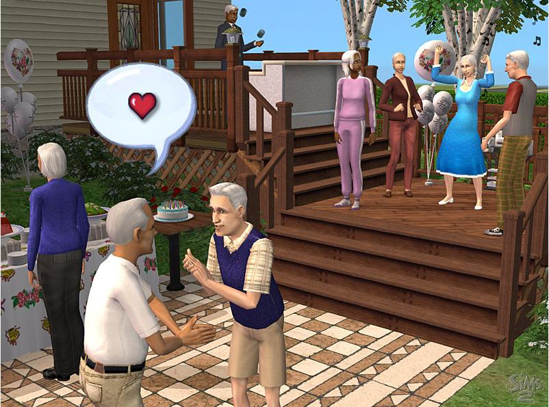 The Sims 2 - Celebration Trailer screenshot 3