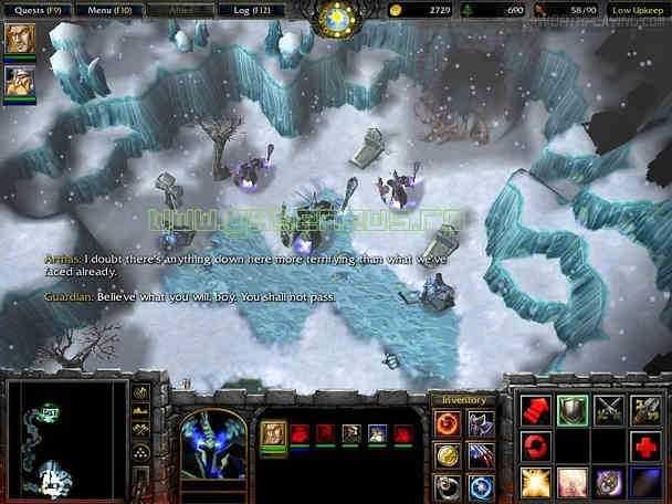 warcraft frozen throne how to use mods