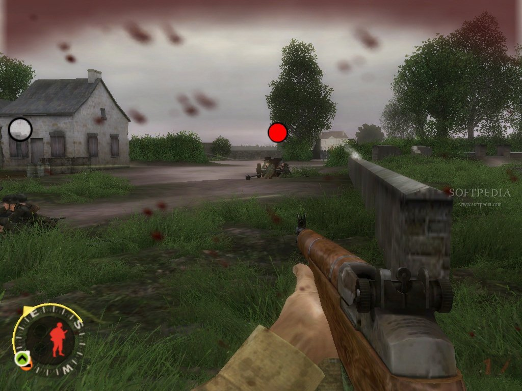 Brothers in Arms Road to Hill 30 - скриншот из игры.