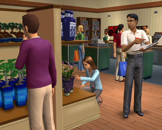 The Sims 2: Open for Business Patch screenshot 1