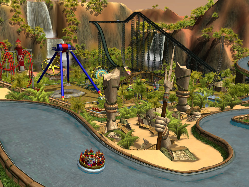 Rollercoaster Tycoon 3 Addons