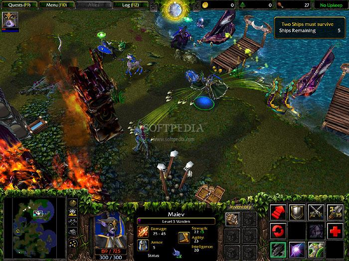 Warcraft III: The Frozen Throne Full English Patch screenshot 2