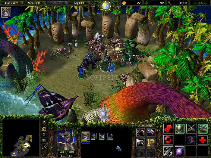 Warcraft III: The Frozen Throne Full English Patch screenshot 3