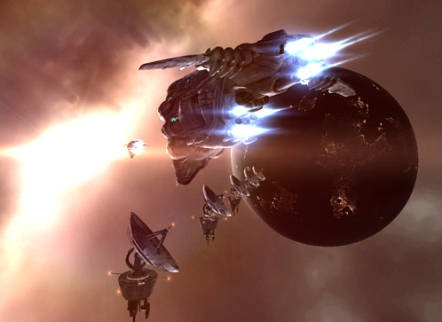 EVE Online Update From Classic Graphics to Premium Graphics screenshot 1