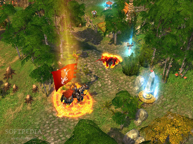 Heroes of Might and Magic V Chech Collector's Edition Patch screenshot 2