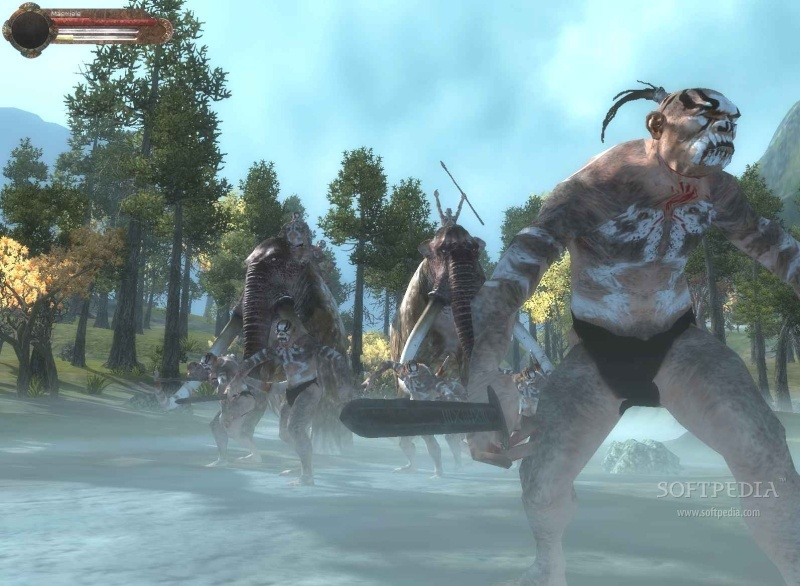 Age of Conan - Hyborian Adventures Atzels Trailer screenshot 1